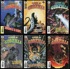 Dark Horse Classics Terror of Godzilla Comic Set 1-2-3-4-5-6 Lot Kazuhisa Iwata