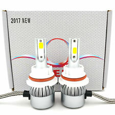 980W 147000LM LED Headlight Kit 9004 HB1 Hi/Low Beam Bulb White 6000K High Power