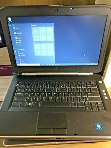 DELL LATITUDE E5420 LAPTOP 14' DISPLAY I7-2620M CPU 250GB HDD 8GB RAM 8x R/W DVD