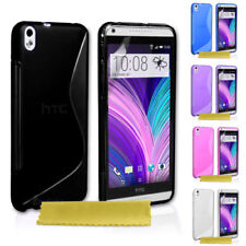 Apple Silicone/Gel/Rubber Mobile Phone Cases, Covers & Skins for HTC