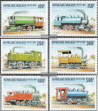 Togo 2809-2814 (kompl.Ausg.) postfrisch 1999 Alte Lokomotiven