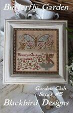 Butterfly Garden - Garden Club Series #5 - Blackbird Designs New Chart