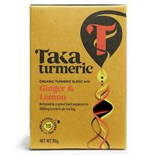 Taka Curcuma Golden GINGER & LEMON TEA - 15 sachets