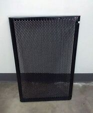 2FT slat or grid wall perforated metal shelf (white or black) SET OF 4