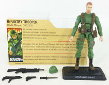 GI JOE COBRA HASBRO TRU INFANTRY TROOPER GRUNT 4 INCH SENIOR RANKING OFFICERS