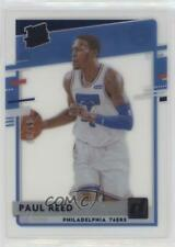 2020-21 Panini Clearly Donruss Rated Blue /99 Paul Reed #59 Rookie