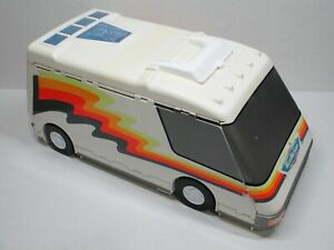 Vintage Micro Machines Galoob Super Van City Camper 1991 RV Fold Out Playset