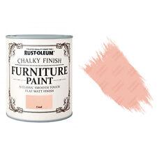 Rust-Oleum Craie Crayeux Meuble Peinture Usé Chic 125ml Corail Mat