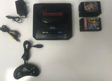 Sega Mega Drive 2 Genuine Console Japan Genesis MD2 + 9 Games
