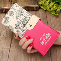 Women Ladies PU Leather Wallet Long Purse Card Holder Bag Clutch Handbag