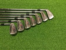 NICE Taylormade Golf TOUR PREFERRED T-D Iron Set 3-9 Left Handed LH Steel STIFF