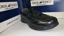 Deer Stags Men's Base Black / Tan Htec Casual Lace up Shoes Size 8-12
