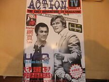 ACTION TV 1 MAGAZINE THE PERSUADERS PROFESSIONALS ROGER MOORE TONY CURTIS ITC