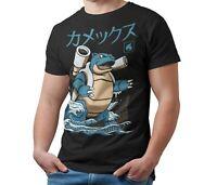 Blastoise Pokemon Kaiju T-Shirt Japanese Monster Unofficial T Shirt Adult & Kids