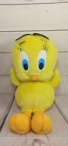 Vintage Tweety Pie Yellow Talking Plush Looney Tunes Warner Studios