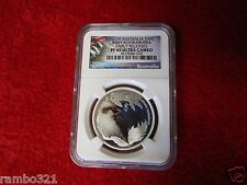 2012P Australia Baby Kookaburra Silver Half Dollar .999 PF69 UC NGC PCGS coin