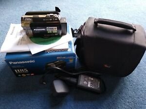 Panasonic SDR-H85 80 GB HDD Camcorder with carry case