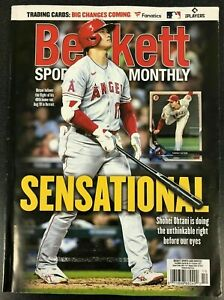 October 2021 Beckett Sports Card Price Guide Monthly Magazine Shohei Ohtani