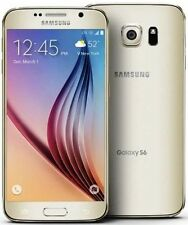 "New Samsung Galaxy S6 SM-G920A AT&T Unlocked 32GB Android 5.1"" Smartphone Gold"