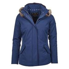 Barbour Ladies Cheviot Jacket, New With Tags, Royal Blue, Size 8 US