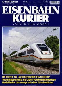 Eisenbahn Kurier 8/2021