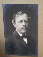 antique post card GEORG SCHUMANN, Breitkopf & Haertel