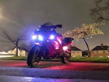 1994-2003 Kawasaki Ninja ZX-9R Xenon Driving Lights Fog Lamps Drivinglights 2002
