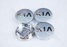 """2009 2010 2011 2012 2013 KIA Sorento OEM 17"""" 18"""" Silver Wheel Cap Set of 4"""