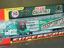 NFL Miami Dolphins Ricky Williams, 2004 SUPERSTARS Tractor-Trailer-Truck, New