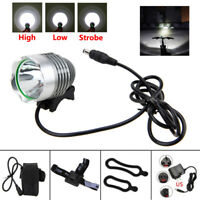 Rechargeable 10000LM XM-L T6 LED Bicycle Bike Front Light Head Lamp+Battery Pack