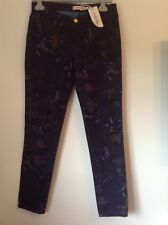 BNWT 100% auth See By Chloe, Slim Fit Flowered Jeans. 27 RRP £389.00
