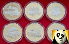 2009 ALDERNEY £ 5 Cinque sterline collezione British Macchina d'argento Proof Coin