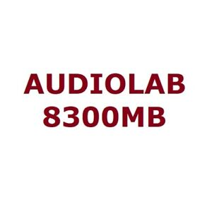 Audiolab 8300MB Pair of 350W/4 Ohm 250W/8 Ohm Mono Block Power Amplifier XLR RCA