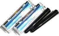 2 x Konische Drehmaschine Elements 110mm + 2 x Black Tube f. konische Zigaretten