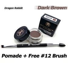 Anastasia Beverly Hills Dipbrow pomade eyebrow Definer Dark Brown + Free Brush