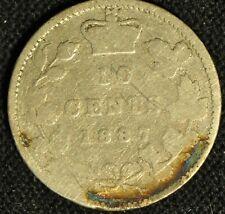 Canada 1887 10 Cent Piece - Buyers Grade -