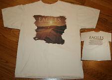 Eagles Long Road Out Of Eden Concert Tour T-Shirt Men Large 2008-09 glenn frey