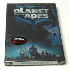 Planet Of The Apes Special Edition Dvd 2 Disc Set Brand New Sealed Tim Burton