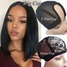 U Part Dome Wig Cap Lace Mesh Making Wigs Hair Weaving Elastic Adjustable Straps