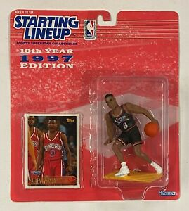 1996-97 Topps Allen Iverson RC Rookie Starting Lineup Figure Unopened Sealed