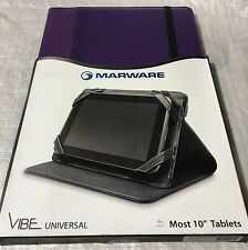 """MarWare Vibe Universal 10"""" Tablet Case for iPad, Galaxy Note - Purple UXVB1Y NEW"""