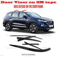 3M Tape Smoke Door Window Vent Visor Deflector fits ELANTRA GT HATCHBACK 2018-19