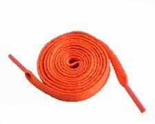 Schnürsenkel Schnürbander Flachsenkel Schuhband Laces reißfest 120 cm Orange