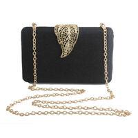 gold luxury handbags women shoulder bags purse evening bag clutches wallet black