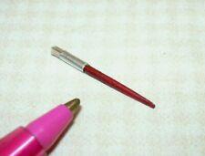 "Miniature Artist's Red Paint Brush w/Real Bristles, 7/8"" (#16) DOLLHOUSE 1/12"