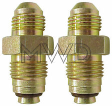 GM Power Steering Gear Box Fittings 6AN to O-Ring IMCA