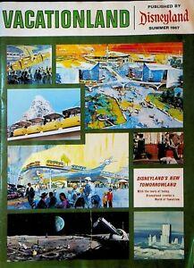 Vacationland Summer 1967 Disneyland Magazine Tomorrowland