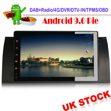 """9""""Android 9 Head Unit GPS Sat Nav DAB Radio WiFi Stereo For BMW Range Rover L322"""
