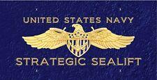 Navy Strategic Sealift License Plate  LP 402
