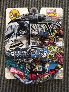 Buff COMIC POP POWER Motorcycle Neck Scarf/Snood Iron Man/Thor/Captain America